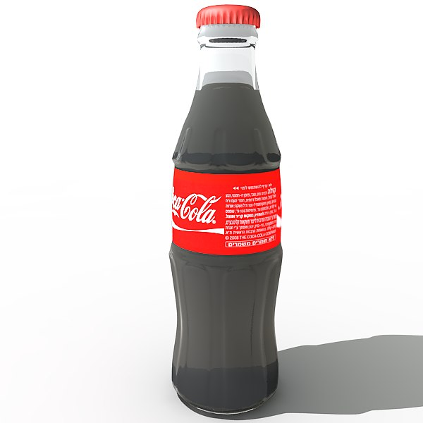 coca cola classic bottle 3d max - Coca Cola Classic bottle... by Rapida.il