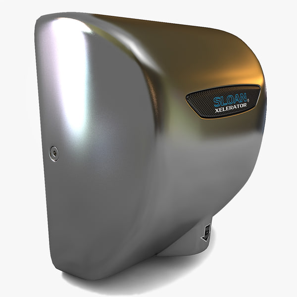 3d hand dryers - Hand Dryers Collection... by 3d_molier
