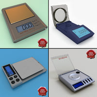 3ds jewelry digital scales