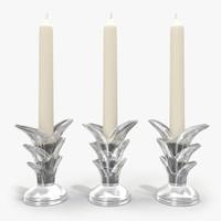 3d max lalique candlestick