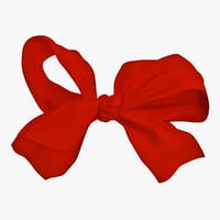 3d model large bow