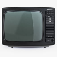 PHILIPS 14C825 retro color TV