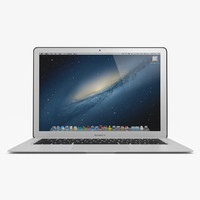 13 apple macbook air 3d 3ds