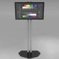 3d audipack stand model