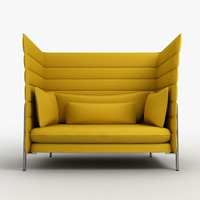 Vitra Alcove chair 4