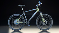 3ds max mountain bike