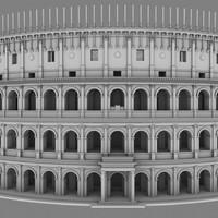 maya roman colosseum