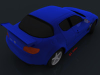 3d completed car rims