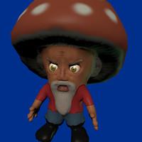 blender mushroom