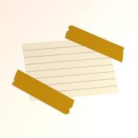 3d model of paper