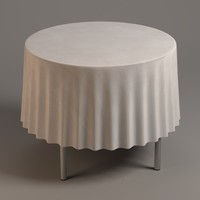 table tableclothes 3d model