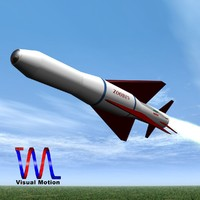 agm-379 missile iranian zoobin 3d 3ds