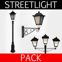 3ds max streetlights pack