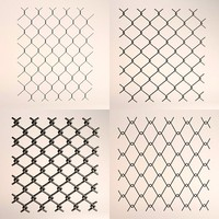 fence chain links 3ds