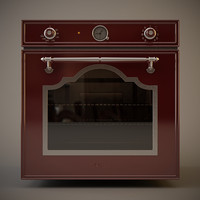Smeg SC 750 Cortina red wine