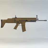 SCAR-H Assault Rifle