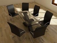 3ds dinner table