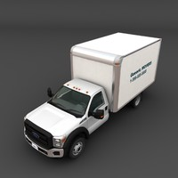 Ford Super Duty box truck