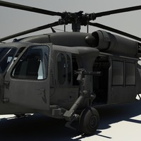 3dsmax black hawk