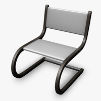 obj modern chair