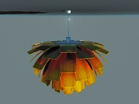 ceiling light 3 dxf