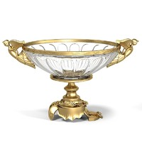 baroque glass bowl max