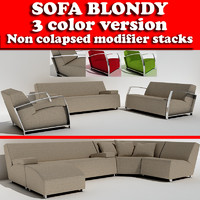 3d 3ds sofa blondy