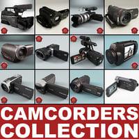 camcorders v5 3d model