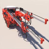 3d sandvik dd530 mining jumbo model