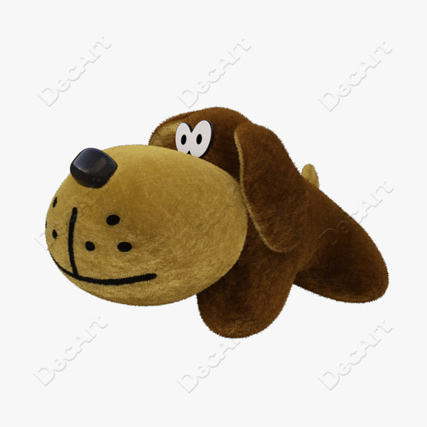 3d model dog toy - Toy Dog... by DecArt