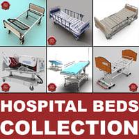 Hospital Beds Collection V3