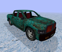 3dsmax old pickup truck