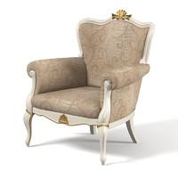 3d lineatre classic armchair