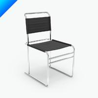 marcel breuer b40 chair 3ds