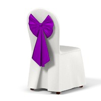 wedding dining chair 3d model