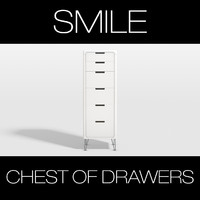 3d photoreal smile chest drawers