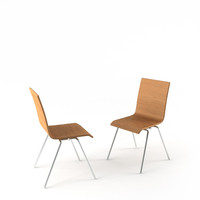 maya soho beech chair