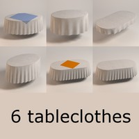 oval tableclothes