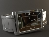 clock casio 3d model