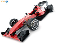 Generic F1 race car