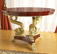 3d empire table model
