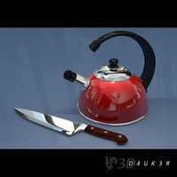 3d kettle knife