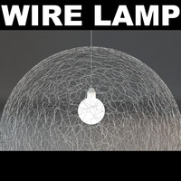wire light 3d max