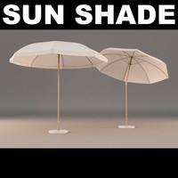 3d model of sun shade
