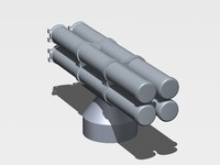 3d antisubmarine paket-nk model