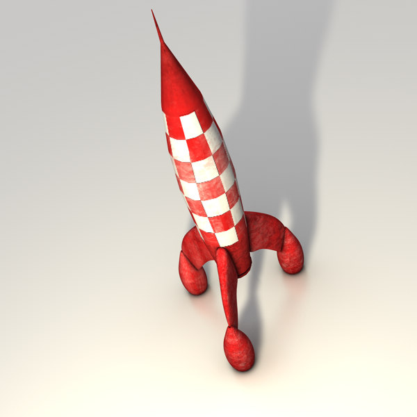 toy rocket 3ds - Toy rocket... by Bondiana