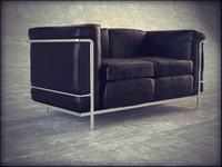 3d model le corbusier