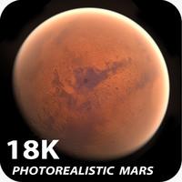 18k Photorealistic Mars