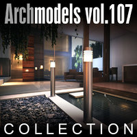 maya archmodels vol 107 lamps