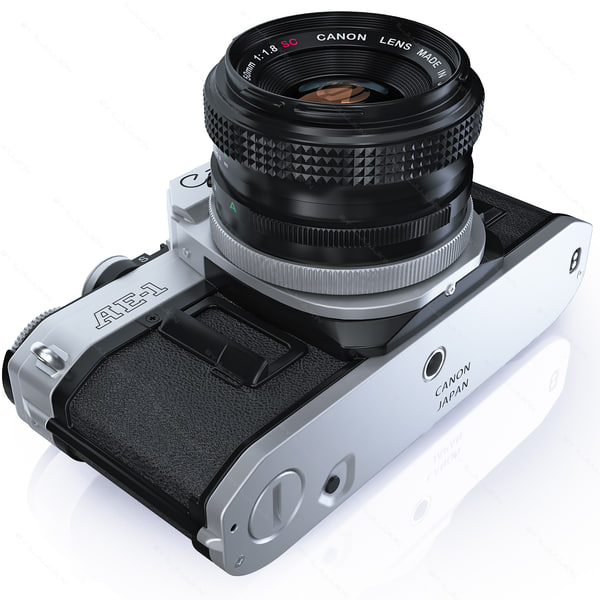 how to set asa on canon ae-1
